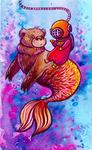 Merbear by Karylynn Keppol