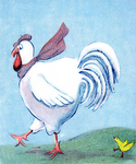 French Hen by Laurie J. Edwards