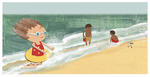 Flip Flop Ocean by Martha Failinger