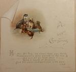 Lord of Misrule Card by Leila Mason Turner