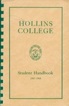 Student Handbook (1967) by Hollins College