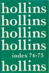 Hollins Index (1974) by Hollins College