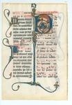 Missal [Manuscript leaf, HU 5b]