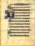Psalter [Manuscript leaf HU 13]