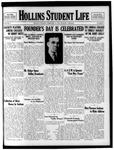 Hollins Student Life (1933 Feb 25)