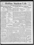 Hollins Student Life (1933 May 6) by Hollins College