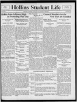 Hollins Student Life (1933 May 20) by Hollins College