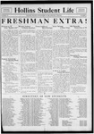 Hollins Student Life (1933 Sept 19) by Hollins College