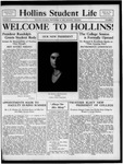 Hollins Student Life (1933 Sept 28)