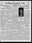 Hollins Student Life (1938 Feb 25)