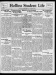 Hollins Student Life (1938 Oct 27)