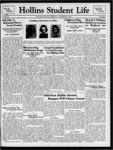 Hollins Student Life (1938 Nov 17)