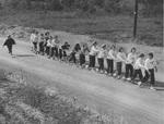 Tinker Day 1950s Conga Line