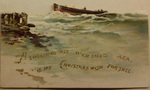 Rocking Boat Christmas Card