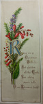 Ring Christmas Bells Christmas Card by Leila Virginia Turner